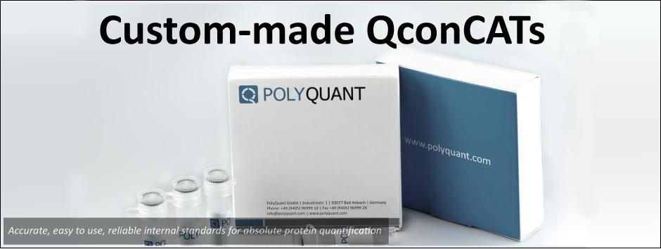 Custom-made QconCATs